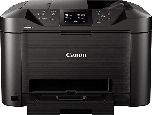 Canon MB5150 -Stampante multifunzione a getto d inchiostro, a colori, 24ppm, USB