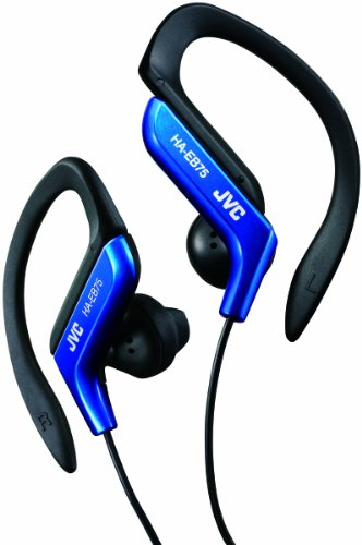 JVC HA-EB75 In-Ear Sweat Resistant Sports Headphones with Adjustable Clip -...
