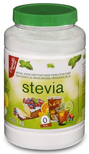 Castelló Since 1907 Dolcificante Stevia + Eritritolo 1:3 - Barattolo da 1 kg
