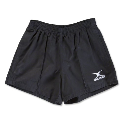 Gilbert Kiwi Pro Rugby Short (Black)(Medium)