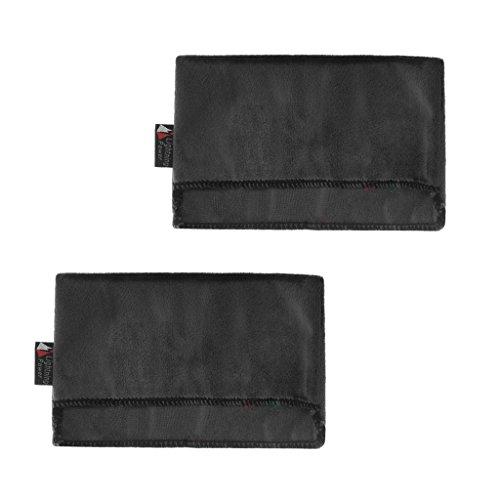 perfk 2 x Schutzhülle Schutztasche mit Ultra-weichem Futter Für Nintendo Switch Ladestation