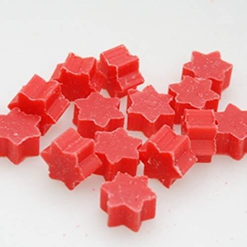 Florex Schafmilchseife Lot de 50 mini savons en forme d'étoile à la grenade