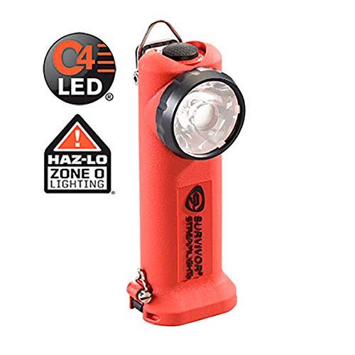 Streamlight - Linterna angulada recargable LED STREAMLIGHT SURVIVOR LED LOW PROFILE ATEX 175 lumens