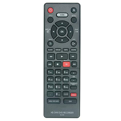 NC266UH NC266 Remote Control Applicable for Magnavox HD DVR DVD Recorder MDR868H MDR868H/F7 MDR865H MDR865H/F7 MDR867H MDR867H/F7
