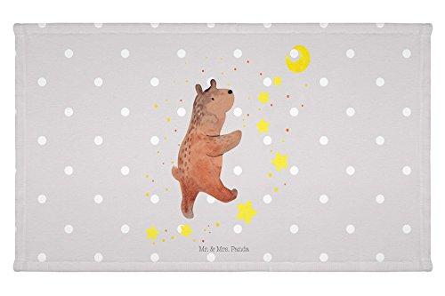 Mr. & Mrs. Panda 50 x 30, Handtuch, Gäste Handtuch Bär Träume - Farbe Grau Pastell