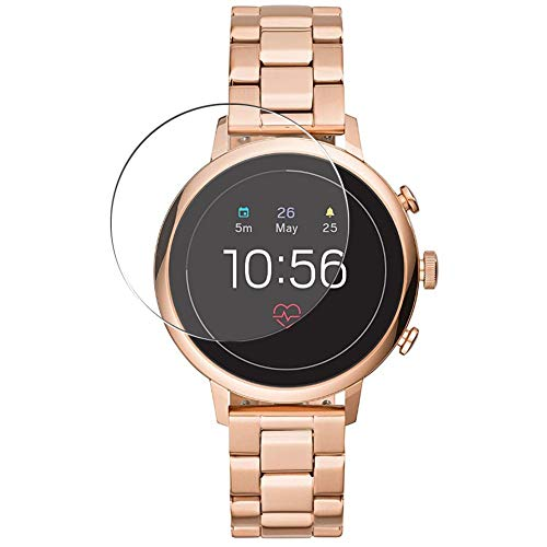 Puccy 3 Pack Screen Protector Film, compatible with Fossil Gen 4 Q Venture HR FTW6018 Smartwatch smart watch TPU Guard ( Not Tempered Glass Protectors )