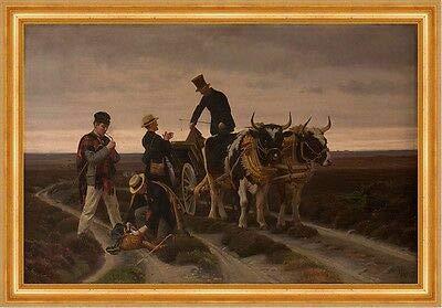 Kunstdruck A3 01889 Walking Trip. Jutland Frants Henningsen