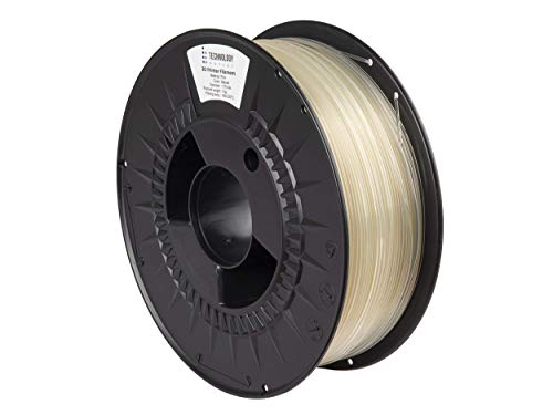 TECHNOLOGYOUTLET Premium 3D Printer Filament 1.75MM PLA Natural