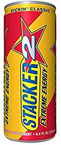 Stacker2 Bevanda Energetica Estrema 24 Lattine, Kickin Classic - 3330 g