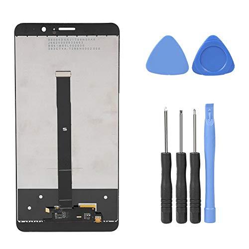 Riuty Reemplazo de Pantalla Táctil para, Conjunto Completo de reemplazo de digitalizador de Pantalla táctil LCD con Herramientas fijas para Huawei Mate 9
