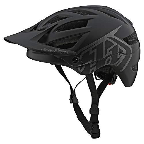 Troy Lee Designs A1 Drone Helm Black/Silver Kopfumfang XL/XXL | 60-63cm 2020 Fahrradhelm