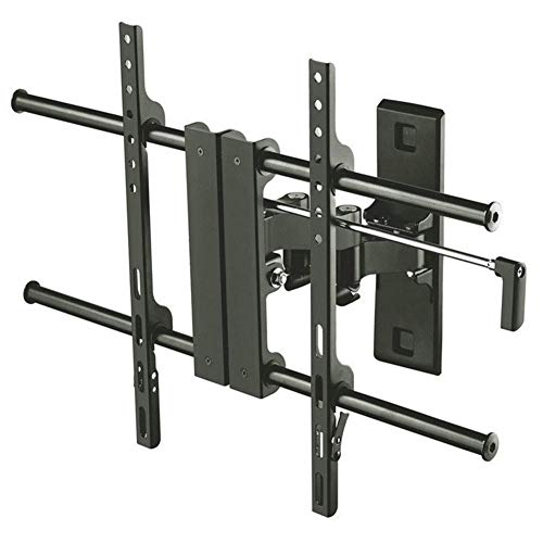 TV-Wandhalterung - für 32-65-Zoll-LED-HD-4K-Plasmafernseher Schwenk- Und Neigbar, Hochleistungs-Standfuß Bis Zu 45 Kg, Schwarz