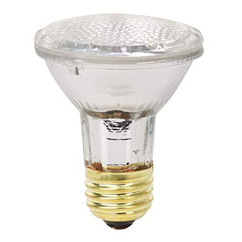 Feit Electric 38PAR20/QFL/ES/6 50 Watt Equivalent 38W Indoor/Outdoor Flood Halogen PAR20 light bulb, Soft 6 Pack, 2900K Warm White, 6 Count