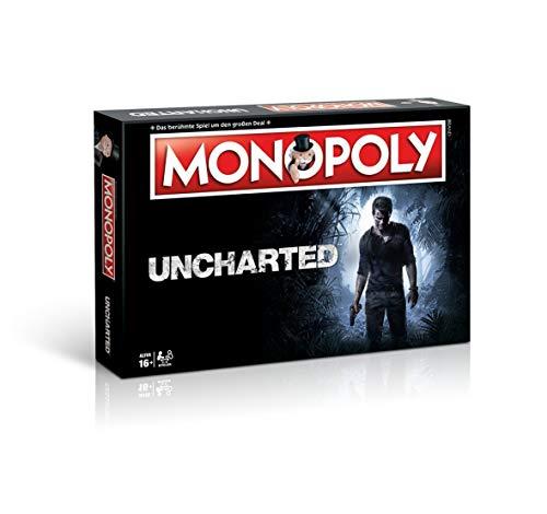 Monopoly Uncharted - das bekannte und beliebte Gesellschaftsspiel, trifft auf die Welt von UNCHARTED! (Deutsch)