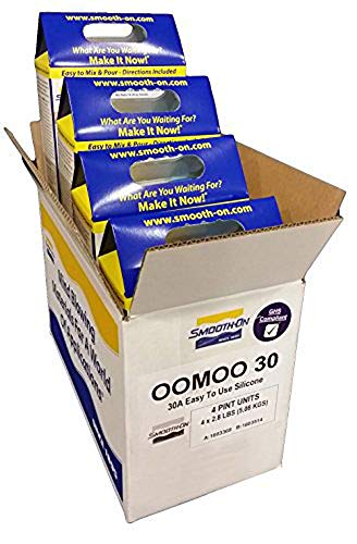 Smooth-on OOMOO 30 - BULK LOT - 1 Case with 4 Kits - 8 Pints Total Silicone