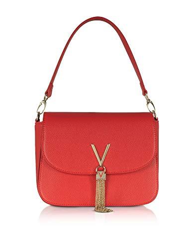 Luxury Fashion | Valentino By Mario Valentino Dames VBS1R404ROSSO Rood Kunstleer Handtassen | Lente-zomer 20