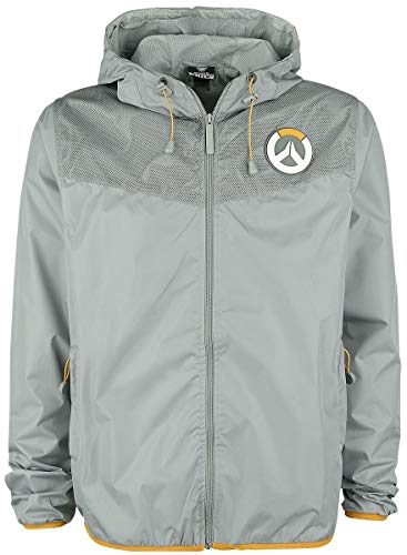Overwatch Logo Windbreaker grau S