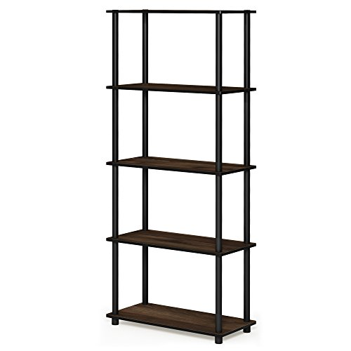 AOJIA 4 Tier Slide Out Storage Cart, Bathroom Storage Organizer Rolling Utility Cart, Bathroom Storage Cart with Wheels Mobile Shelf Units for Bathroom Kitchen Bedroom Laundry