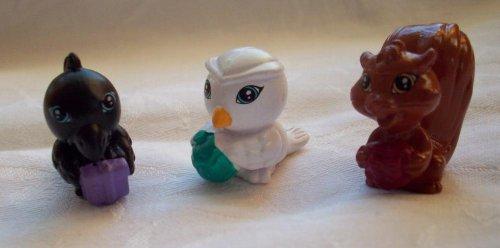 Filly Pferdchen - 3er Set Filly-Kuscheltiere - Eule, Rabe, Eichhörnchen