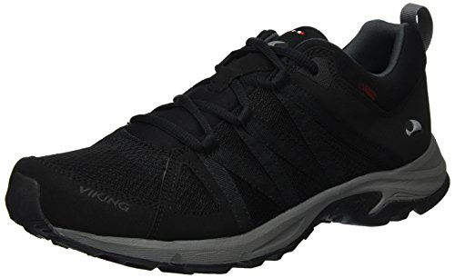 viking Komfort GTX M, Chaussures Multisport Outdoor Homme, Noir (Black/Pewter 278), 44 EU