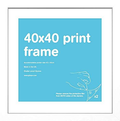GB Eye LTD, Blanc, 40x40cm - Eton, Cadre