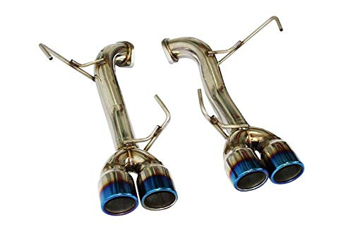 CNT Racing Axleback Quad Tip Exhaust System Blue Tips for 2015-17 Subaru WRX/STi