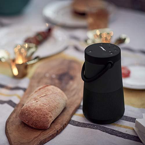 Bose SoundLink Revolve+ (Serie II) Bluetooth speaker - Tragbarer, wasserabweisender kabelloser Lautsprecher mit langer Akkulaufzeit, Schwarz