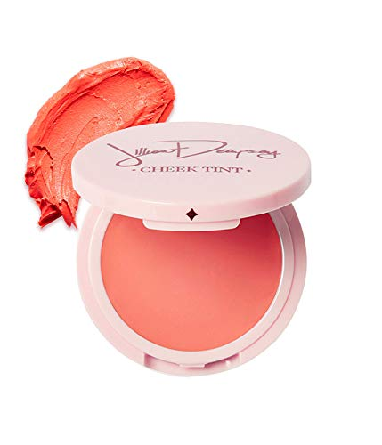 Jillian Dempsey Cheek Tint MultiUse Natural Blush for Cheeks Lips Vegan CrueltyFree Organic, Poppy, 0.11 Ounce