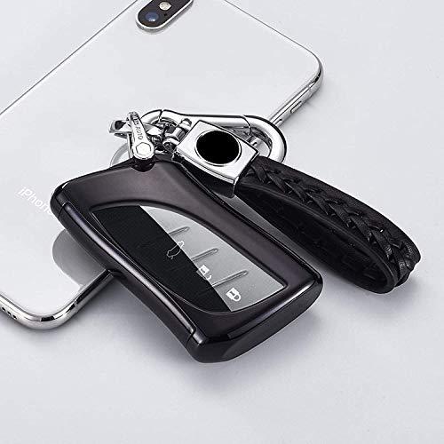 WASHULI Blocker-Hülle für Autoschlüsse Abdeckung für Lexus NX GS RX is ES GX LX RC UX US 200 250H 350 LS 450h 260h 300h blau (Color : Black)