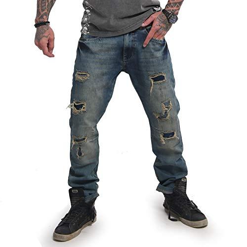 Yakuza Biker Straight Jeans