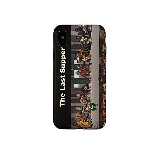 WZHC Exquisita Apariencia Compatible con iPhone Caso 11, NBA Kobe La última Cena James Silicona iPhone 11 Casos de la Cubierta for iPhone 11/11 Pro/Pro 11 MAX y Muchos Otros Modelos Sentirse cómodo