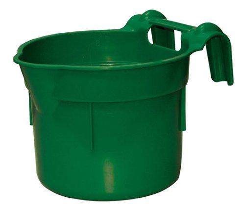 Kerbl 323481 Futtertrog zum Einhängen, Hangon, ca. 8 l, grün