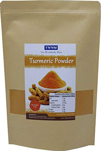 TURMERIC GROUND POWDER HALDI POWDER COOKING INDIAN SPICES 1KG