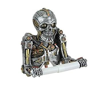 Everspring Import Company Steampunk Skeleton Toilet Paper Holder