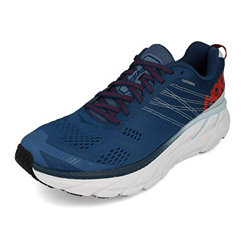 HOKA ONE ONE Mens Clifton 6 Ensign Blue/Plein Air...