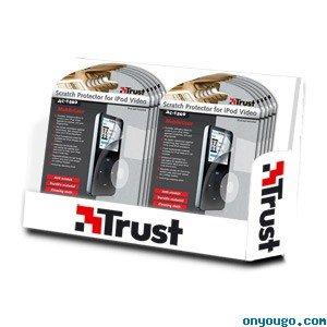 Scratch Protector confiance pack pour iPod Video Easy Connect AC-1500 [Jouet]