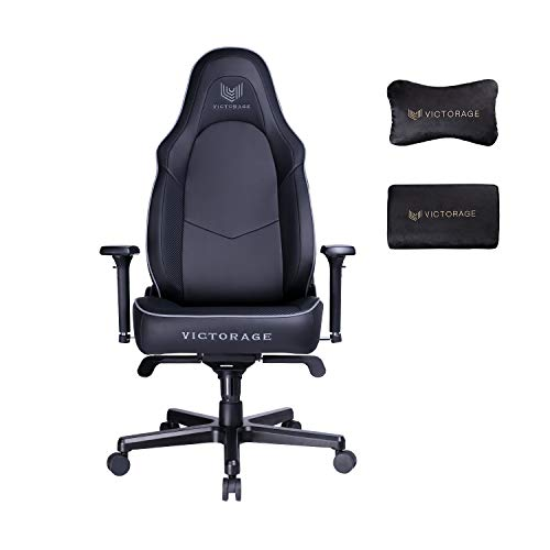 VICTORAGE Victor VG Series Premium PU Leather Computer Gaming Chair(Carbon)