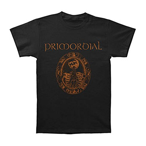 Primordial Redemption At The Puritans Hand Black T-shirt Large