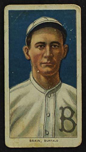 1909 T206 Dave Brain Minor League - Buffalo (Baseball Card) GOOD Minor League - Buffalo