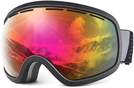 HUBO SPORTS Ski Snowboard Goggles for Men Women Adult Over Glasses Snow Goggles of Dual Lens product image