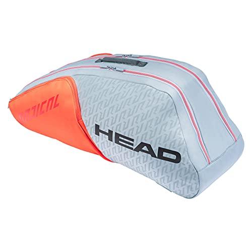 Borsone tennis HEAD Combi RADICAL 6 R portaracchette - 283521-GROR