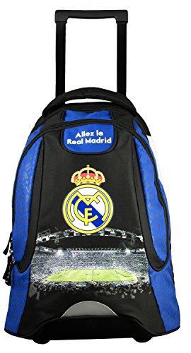 Zaino per la scuola a trolley REAL MADRID, collezione ufficiale