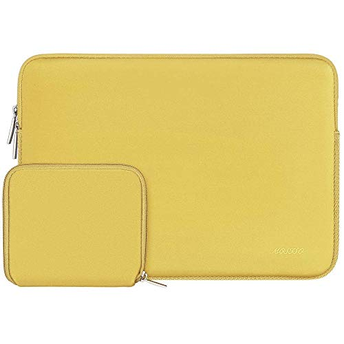 Simplicity Laptop Sleeve For Macbook Dell Hp Asus Acer Lenovo 11 12 13.3 14 15 Inch Laptop Bag Case For MacPro 13 15 Notebook Bags (Color : Yellow, Size : 13 inch)