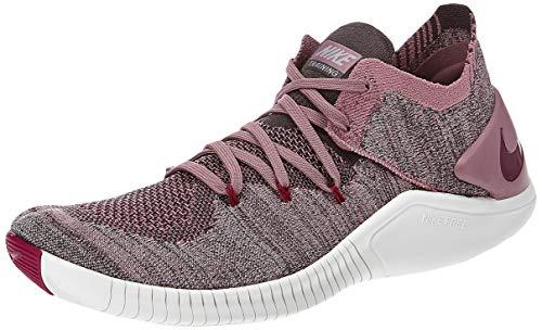 Nike Wmns Free TR Flyknit 3, Scarpe da Fitness Donna, Multicolore, Viola (Plum Dust True Berry), Grigio (Atmosphere Grey), 501, 42 EU