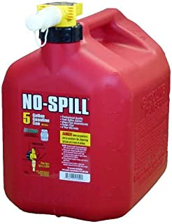 No-Spill 1450 5-Gallon Poly Gas Can (CARB Compliant), Pack of 2