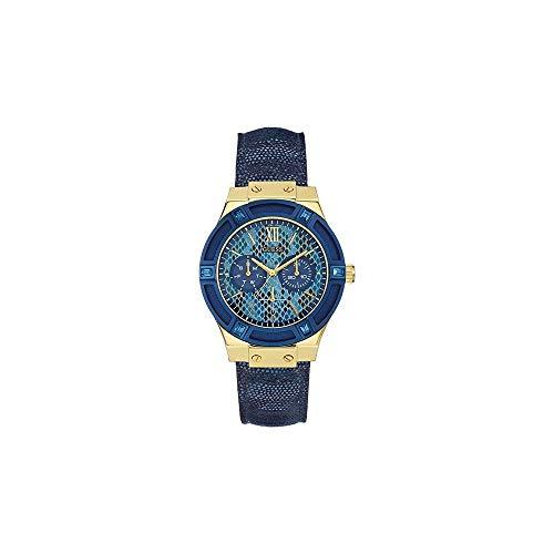 Guess Reloj cronógrafo para Mujer de Cuarzo con Correa en Piel W0289L3