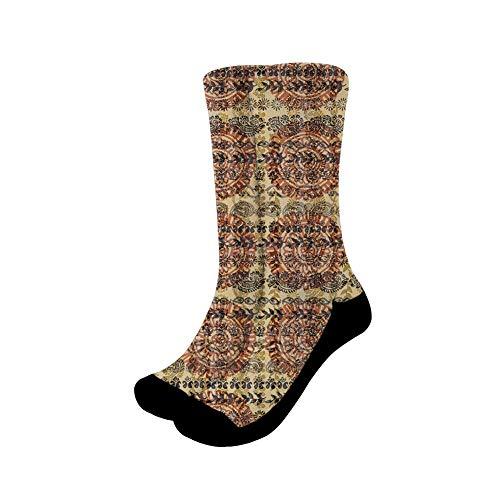 chaqlin - Calcetines para mujer, de algodón, para correr, casual, para invierno, suave, cálido, grueso, informal, para el sueño, S