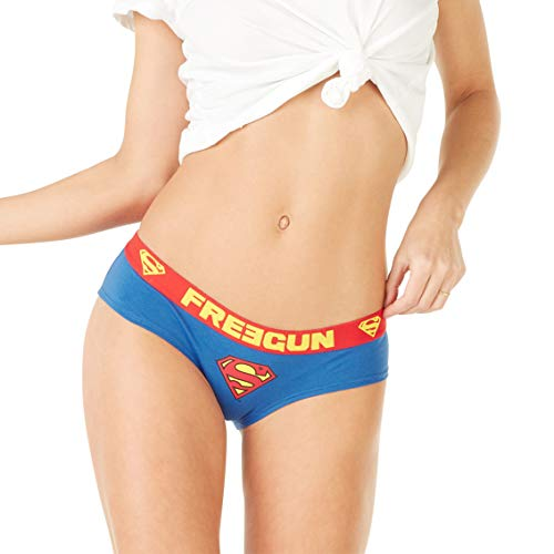Freegun Damen Boxershorts DC Comics Superman Gr. Small, mehrfarbig