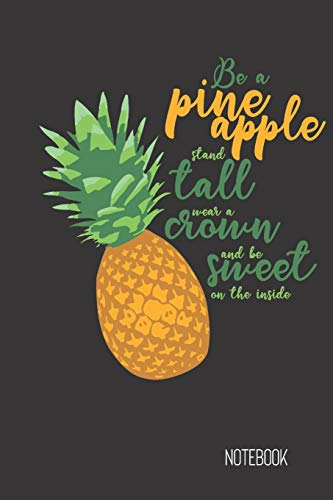 Discover Bargain be a pine apple stand tall: small lined Fruit Pun Notebook / Travel Journal to writ...