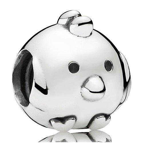 Charm Pandora Animal pollitos 925er plata 791743